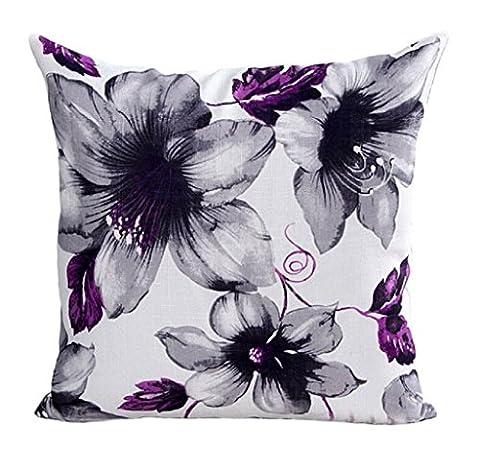 Gillberry Fleurs Motif Canapé-lit Home Decor Taie d