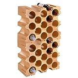 Weinregal/Flaschenregal TERRAKOTTA, Kunststoff, 2er-Set für 30 Flaschen, stabelbar/erweiterbar - H 86 x B 50 x T 26 cm