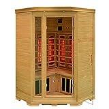 Infrarotkabine Halmstad Sauna Vollspektrumstrahler DUALTHERM Tiefenwärme Infrarot