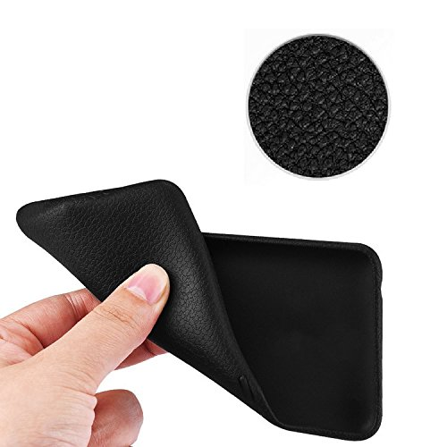 iPhone X Coque Silicone, zanasta Etui Ultra Mince Case Housse de Protection Souple Touché Doux TPU Structure Design Marron Marron
