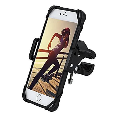 Gear Beast Universal Bike Phone Mount Mobile Cell Phone Holder Case for iPhone X 8 8 Plus 7 7 Plus 6s 6s Plus 6 6 Plus Galaxy S8 S8 Plus S7 S7 Edge S6 Note 8 5. GPS Mount Motorcycle Phone