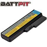 Battpit Laptop Akku für Lenovo G430 G550 G555 N500 B550 42T4725 42T4729 42T4584 42T4730 L08O6C02 L08S6Y02 L08N6Y02 - [6 Zellen/4400mAh/49Wh]