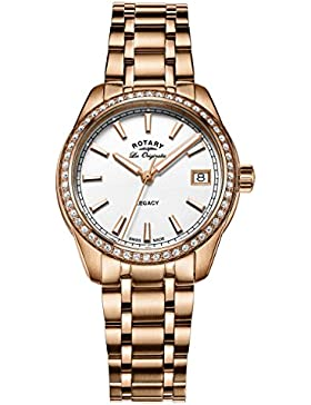 Rotary Damen - Armbanduhr Legacy Analog Quarz LB90176/01