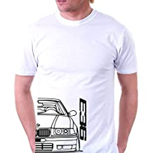 Camiseta motor BMW E36 media cara