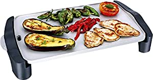 "Electrodomesticos - ""Healthy and delicious"" grill plate"
