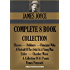 JAMES JOYCE COMPLETE 8 BOOK COLLECTION. Ulysses, Dubliners, A Portrait Of The Artist As A Young Man, Finnegans Wake, Exiles, Chamber Music, Pomes Penyeach, ... Wisdom Collection 1268) (English Edition)