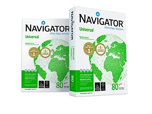 Kopierpapier NAVIGATOR Universal, A4, 80 g/qm, Weißegrad 169 CIE, hochweiß - Bild 2