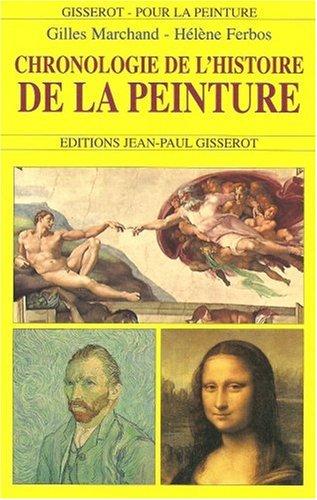 Chronologie de l'histoire de la peinture par Gilles Marchand