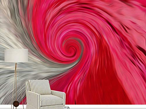 Gewohnheit Irgendeine Größe Rosa Moderne Van Gogh Abstrakte Spirale Körper Hintergrund Wandaufkleber Malerei Wohnkultur Tapete Wandbild
