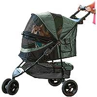 Pet Gear no-Zip edición Especial Carrito, Color Verde