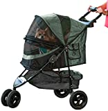 Pet Gear No-Zip Special Edition Stroller, Sage Green