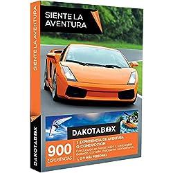 DAKOTABOX - Caja Regalo - SIENTE LA AVENTURA - 900 experiencias de aventura como rafting o conducción en Ferrari, Porsche o Lamborghini