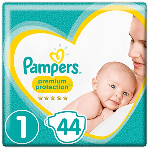 Pampers Premium Protection Taille1, 44Couches,...