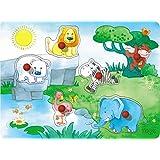 Haba 089011213 Sound-Greifpuzzle Zoofreunde