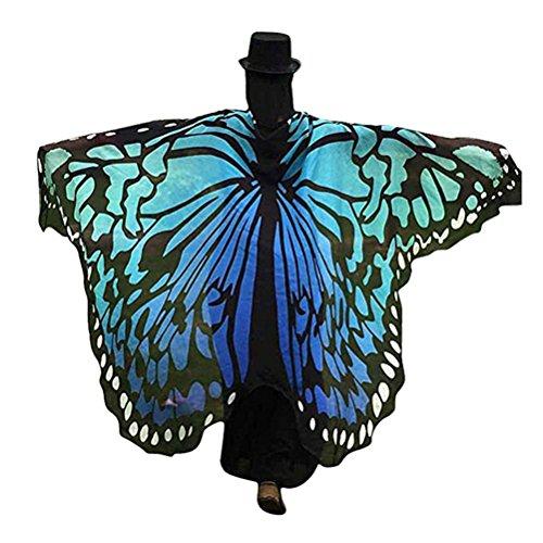 Tinksky Schulter Tuch /kreative Party Kostüm Schmetterling Flügel Schal Für (Schmetterling Flügel)