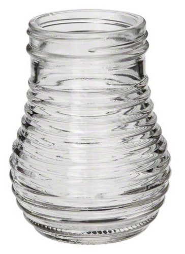 American Metalcraft (BEE600) 6 oz Beehive Shaker Base only (No Top) Spice Jar-shaker