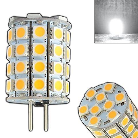 G6.35/GY6.35 LED 6 Watt tageslichtweiß kaltweiß ~35W Halogen 12V AC/DC Lampe