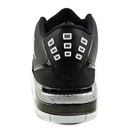 Jordan Flight 23(GS) Nike Jungen Mod. 317821 Black/White-Metallic Silver