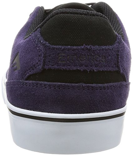 Emerica The Reynolds Low Vulc, Chaussures de skateboard homme Purple/White