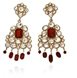 Touchstone Kundan Layered Earrings