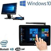 PIPO X9s Mini PC 8.9'' Smart TV Box Intel Cherry Trail Z8350 Quad Core Windows 10 4GB RAM 64GB ROM Touch Screen Tablet