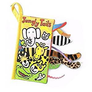Jellycat® Soft Books, Jungly Tails