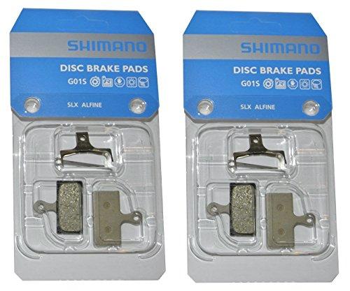 Shimano Resin G01S 2 Paar Bremsbeläge Disc Pad Beläge SLX BRM666 XTR M985 XT 785