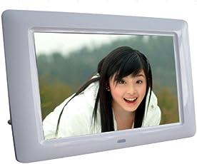 "Epyz HD Ready Digital Photo Frame With Fully Functional Remote (7""inch, Silver)"