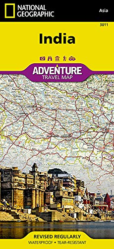 India: Travel Maps International Adventure Map (National Geographic Adventure Map, Band 3011) Indien Band