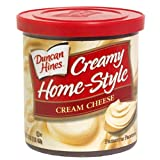 Duncan Hines Creamy Home-Style Frosting, Cream Cheese, 16 oz by Duncan Hines