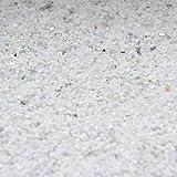 20kg (Grundpreis 2,50€/kg) Buntsteinputz Mosaikputz 1-2mm SOP11 Weiß + Spiegelbruch Wandputz - Hergestellt in Bayern -