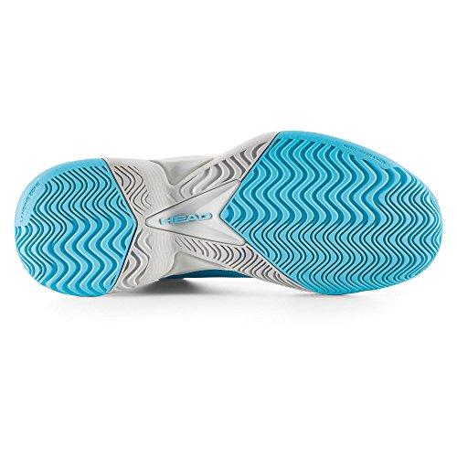 HEAD Damen Revolt Pro Women Blnc Tennisschuhe Bleu (Bleu/Coral )
