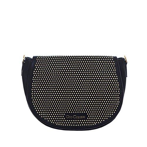 GIO CELLINI - Femme sac a bandouliere m215 Noir