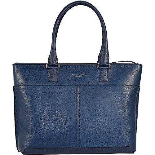 Piquadro BD3336IT5/BLU Archimede Shopping Bag, Blu