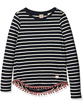 Scotch & Soda R´Belle Mädchen T-Shirt Long Sleeve Tee With Pompoms