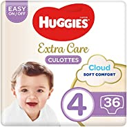 Huggies Extra Care Pants - Size 4, 9-14 kg, 36 Diaper Pants
