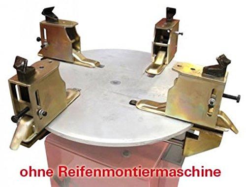 Motorradreifen Adapter 4tlg. für Reifenmontiermaschine