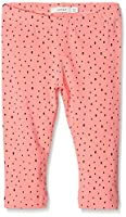 NAME IT Girl's Nitviviandi Aop Capri Legging Mz Trouser, Multicoloured (Flamingo Pink Aop:Dots), 98