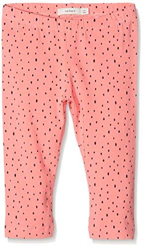 NAME IT Mädchen Hose Nitviviandi AOP Capri Legging MZ, Mehrfarbig (AOP:Dots), Gr. 110 (Dot Capri-outfit)