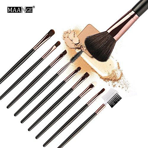 10pcs make-up-pinsel-set Cosmetic Makeup Brush Blusher Eye Shadow Brushes Set Kit New Pinselset