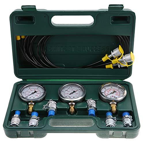 Hydraulische Druckprüfung, Hydraulikdruckprüfkit für Wärmedruck-Widerstandsbagger mit Prüfpunktkupplung und Manometer