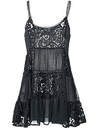Fashion Victim Lace Negligé Sous-vêtements Femme noir