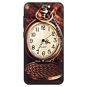 Koolbug Watch Dial Hard Polycarbonate Designer Back Case Cover For HTC One A9