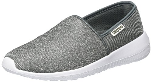 Kappa Cosy Shine, Mocassins Femme Argent (Silver)