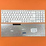 kompatibel für Acer Aspire VN7-792G Tastatur - Farbe: Weiß - ohne Beleuchtung - ohne Rahmen Deutsches Tastaturlayout Version 1