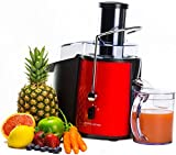 Andrew James Professional Whole Fruit Power Juicer 850W with Cleaning Brush and Jug