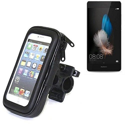 Für Huawei P8 Lite Fahrrad Halterung Handy Halterung Lenkstange Fahrrad Halter Motorrad Bike mount Smartphone Halter für Huawei P8 Lite Wasserabweisend, regensicher, spritzwasserdicht - K-S-Trade(TM)