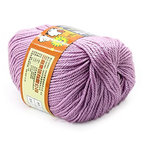 Bébé fil fabriqué Drap 50g de laine Pull en tricot