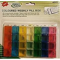 Weekly Pillendose Farbige 7Tage preisvergleich bei billige-tabletten.eu
