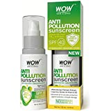 Wow Anti Pollution Sunscreen Water Resistant Sunscreen Lotion, 100ml